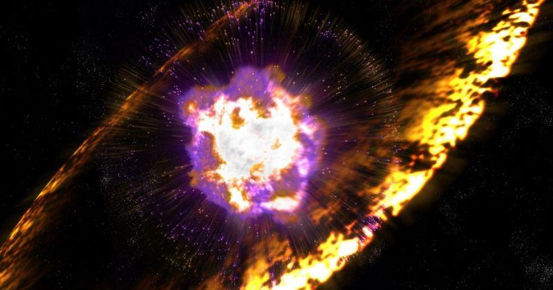 Εκρήξεις υπερκαινοφανών (supernovae) έλουσαν τη Γη με ραδιενεργά συντρίμμια