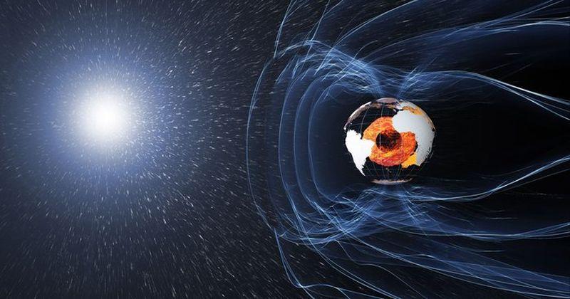 Αποτέλεσμα εικόνας για Γήινο μαγνητικό πεδίο