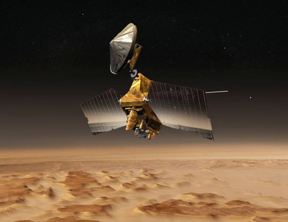 Mars Reconnaissance Orbiter (Εικόνα ESA)