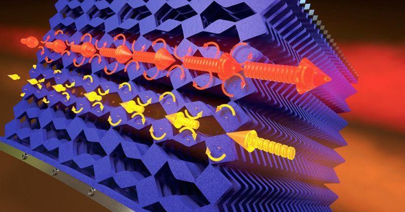 Μεταϋλικά – Ιδιότητες: Ευρήματα οδηγούν σε νέα μηχανικά μεταϋλικά που μπορούν να εμποδίσουν τη συμμετρία της κίνησης