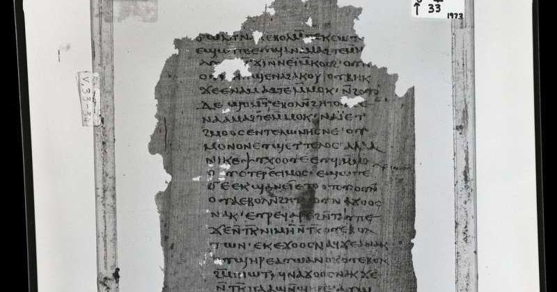 Βρέθηκε το 1ο γνήσιο αντίγραφο στα ελληνικά της γνωστικής «Αποκάλυψης του Ιακώβου»