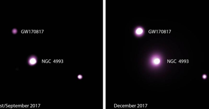 Συγχώνευση άστρων νετρονίων που προσφέρει ακόμη ένα νέο γρίφο για τους αστροφυσικούς