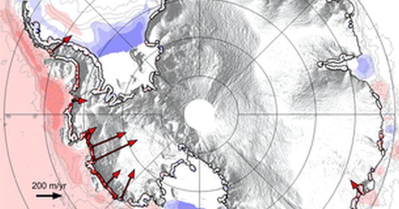 Η Ανταρκτική χάνει μέρος από το κράτημά της όπως δείχνουν μετρήσεις από δορυφόρο της ESA