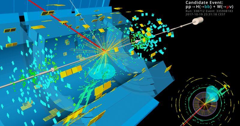 Στο CERN παρατηρήθηκε μια από μακρόν αναζητούμενη διάσπαση του μποζόνιου Higgs