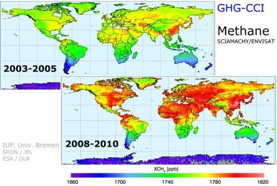 Αύξηση του Μεθανίου