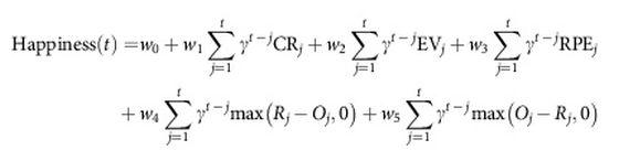 Αναζητήστε τους όρους στην ίδια τη μελέτη, από όπου και η εξίσωση (παραπομπή υπάρχει στο τέλος του κειμένου)
