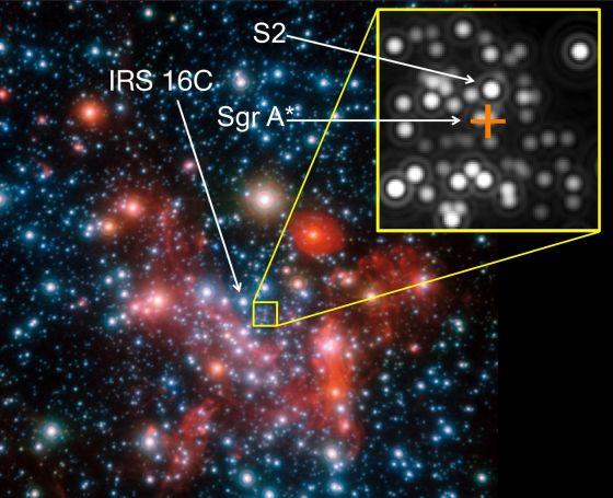 Εικόνα του Γαλαξιακού Κέντρου (πηγή: ESO)