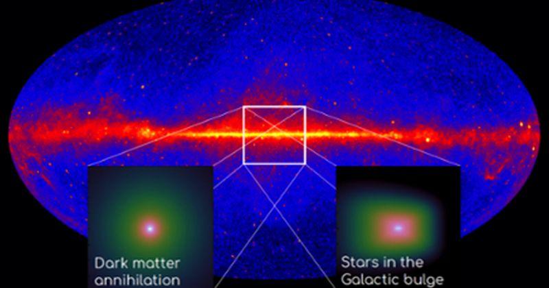 Άλλο ένα πλήγμα για την ερμηνεία της σκοτεινής ύλης για την πλεονάζουσα εκπομπή από το Γαλαξιακό Κέντρο