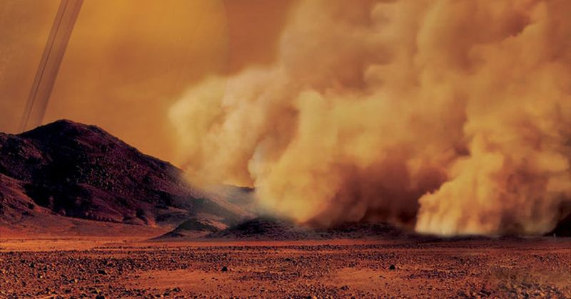 Στον Τιτάνα – το φεγγάρι του Κρόνου – εντοπίστηκαν για πρώτη φορά τεράστιες θύελλες σκόνης