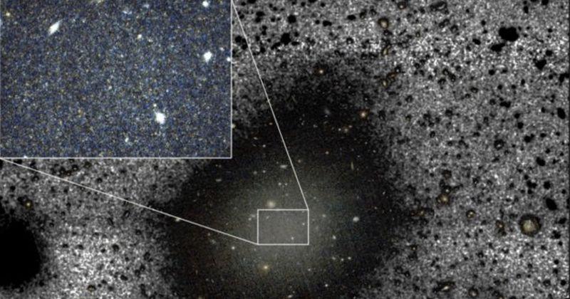 Λύθηκε από τους επιστήμονες το μυστήριο του γαλαξία χωρίς σκοτεινή ύλη