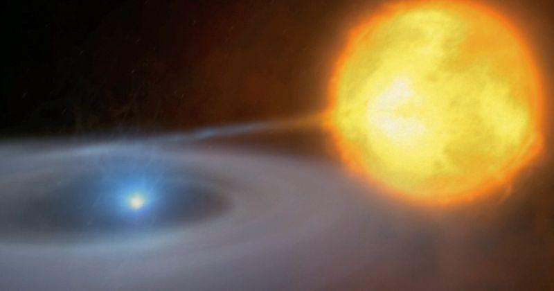 Αστρονόμοι αποθανάτισαν σπάνια κοσμική συμπεριφορά «Dr. Jekyll and Mr. Hyde» σε διπλό αστρικό σύστημα