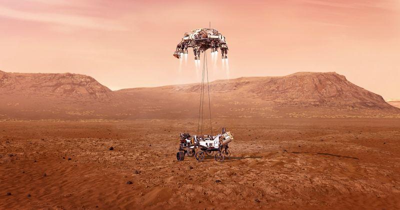 NASA: Η προσεδάφιση στον Άρη από την πρώτη θέση του Perseverance – η πρώτη ηχογράφηση στον κόκκινο πλανήτη