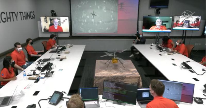 Η πρώτη ιστορική πτήση του Ingenuity της NASA στον πλανήτη Άρη