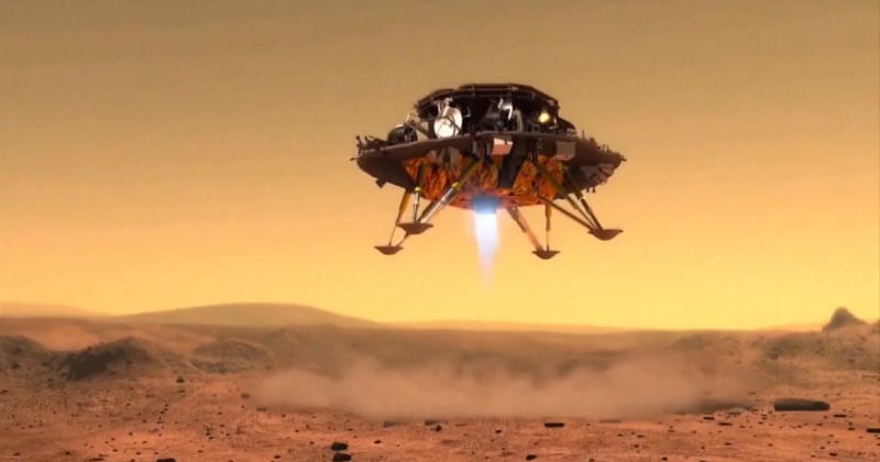 Πλανήτης Άρης: Η Κίνα προσεδάφισε ρομπότ στον κόκκινο πλανήτη